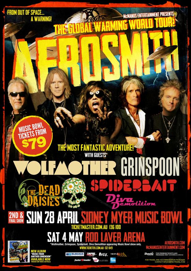 Aerosmith-Melbourne-2ndshow