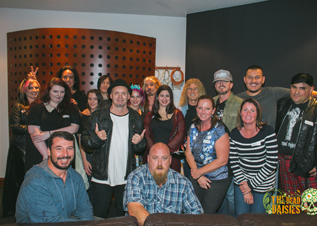 Triple M fan meet up - In the Studio