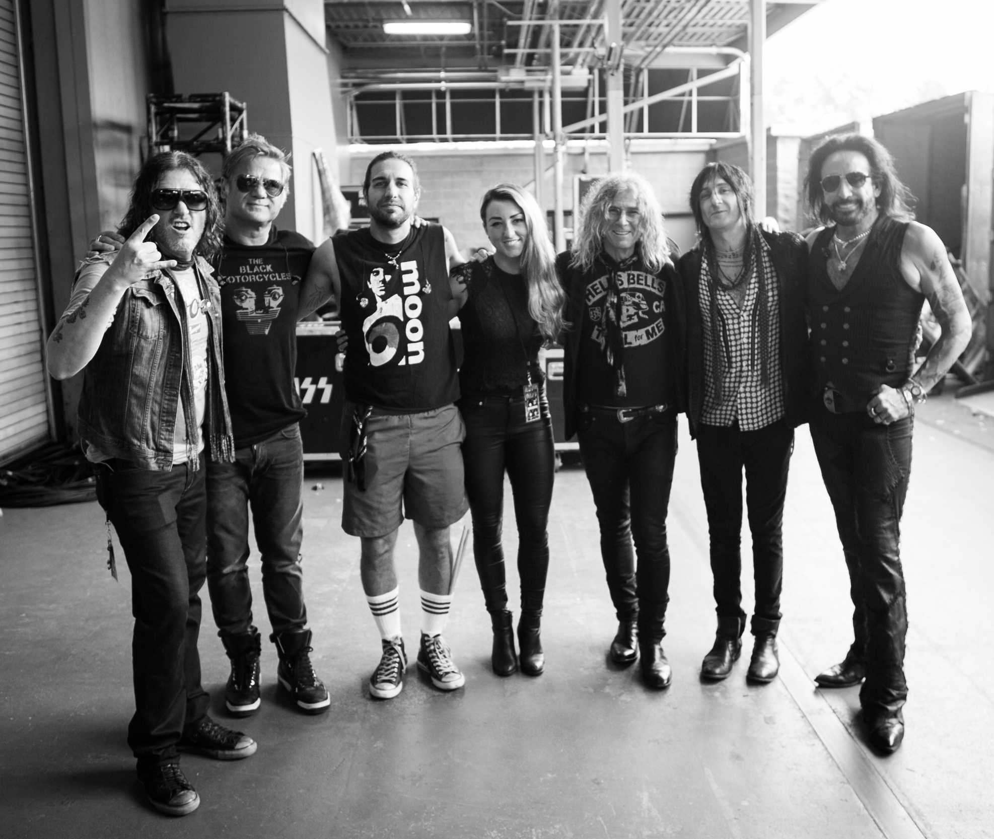 2. Hayley and The Dead Daisies (derrr)