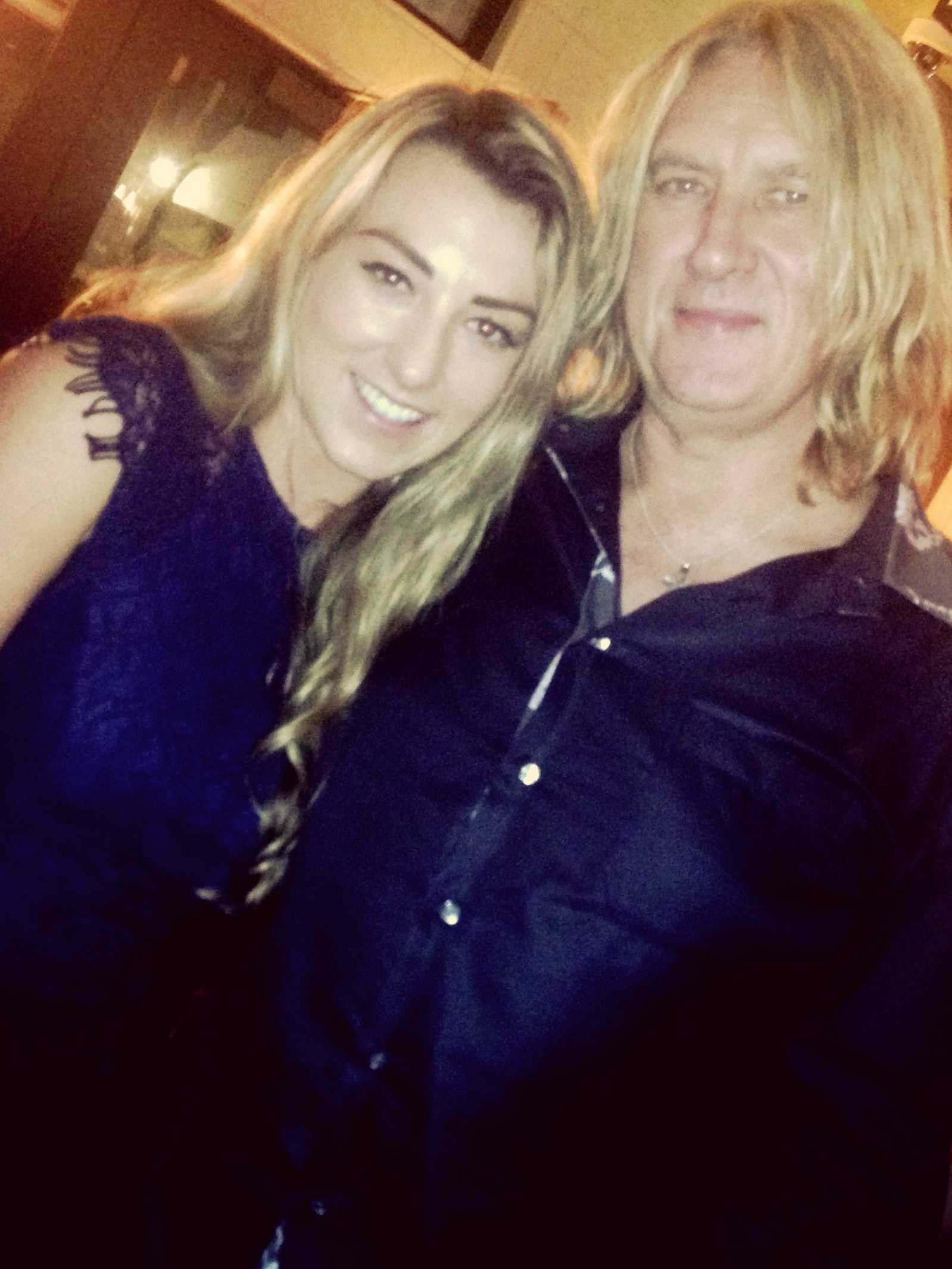 7. Hayley and Joe Elliot
