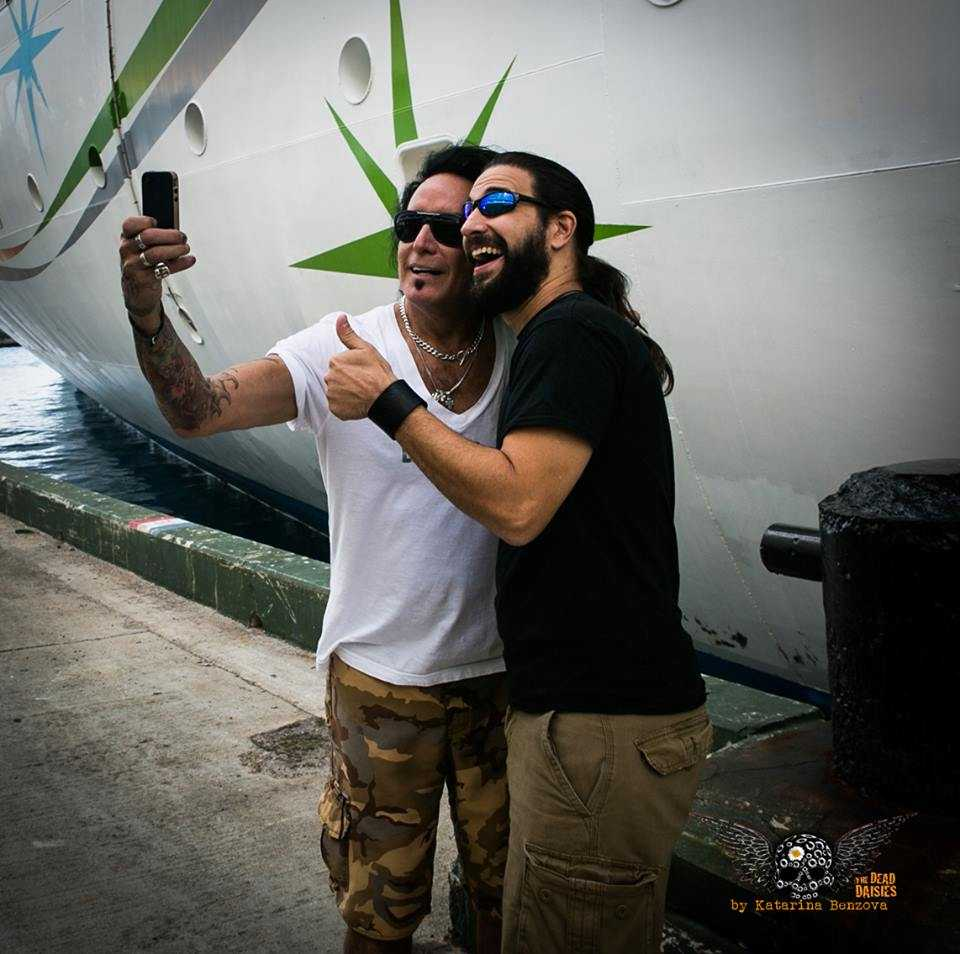 Brian and Marco taking Selfie