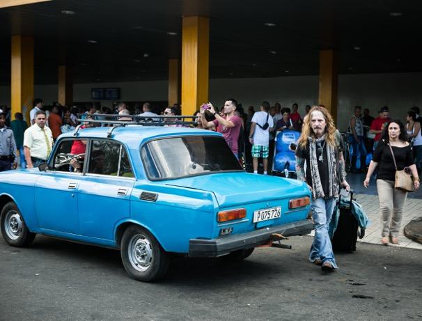 Corabi and a vintage Soviet automobile