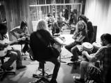 Rehearsing at Abdala Studios