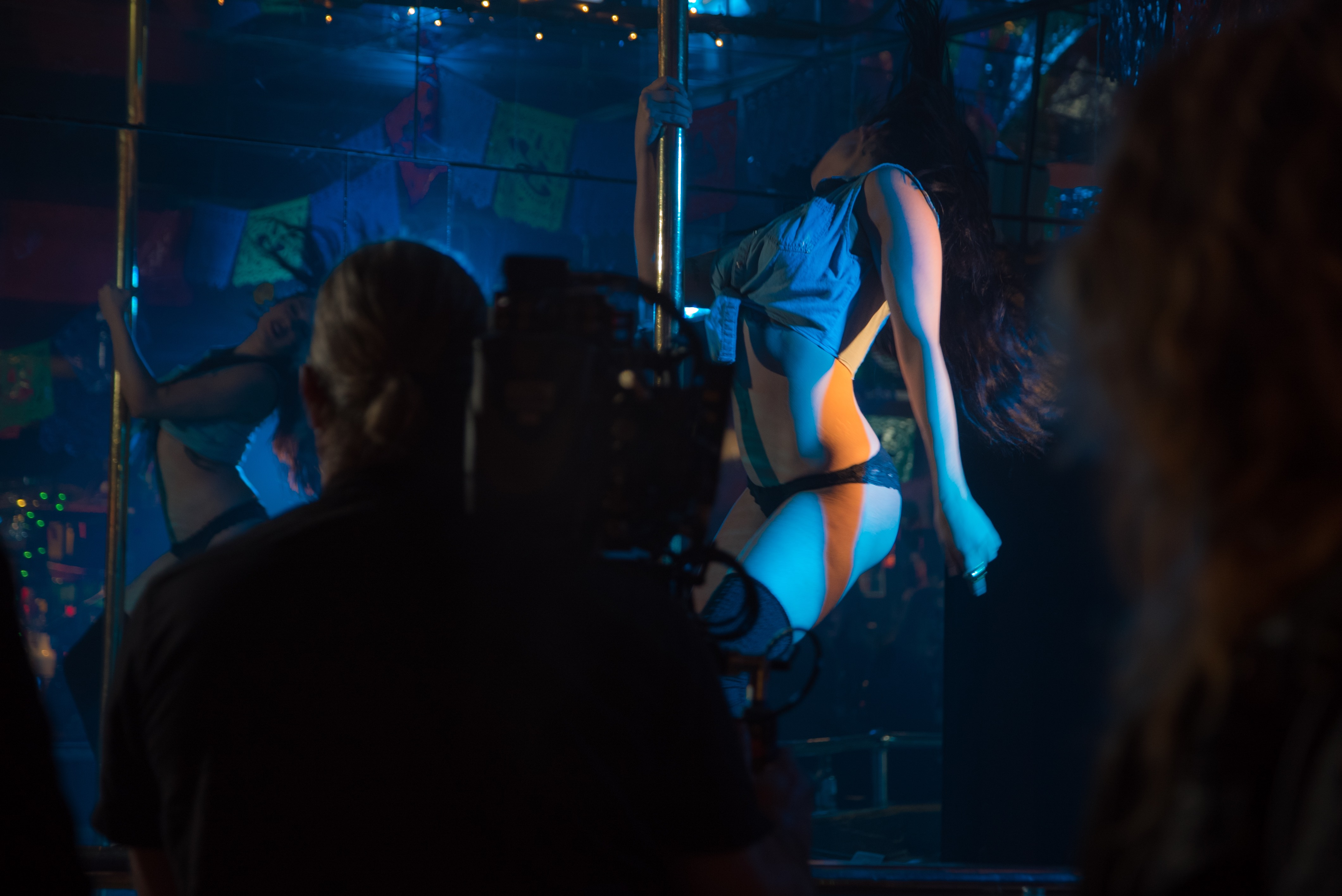 On the set of Mexico - Video shoot