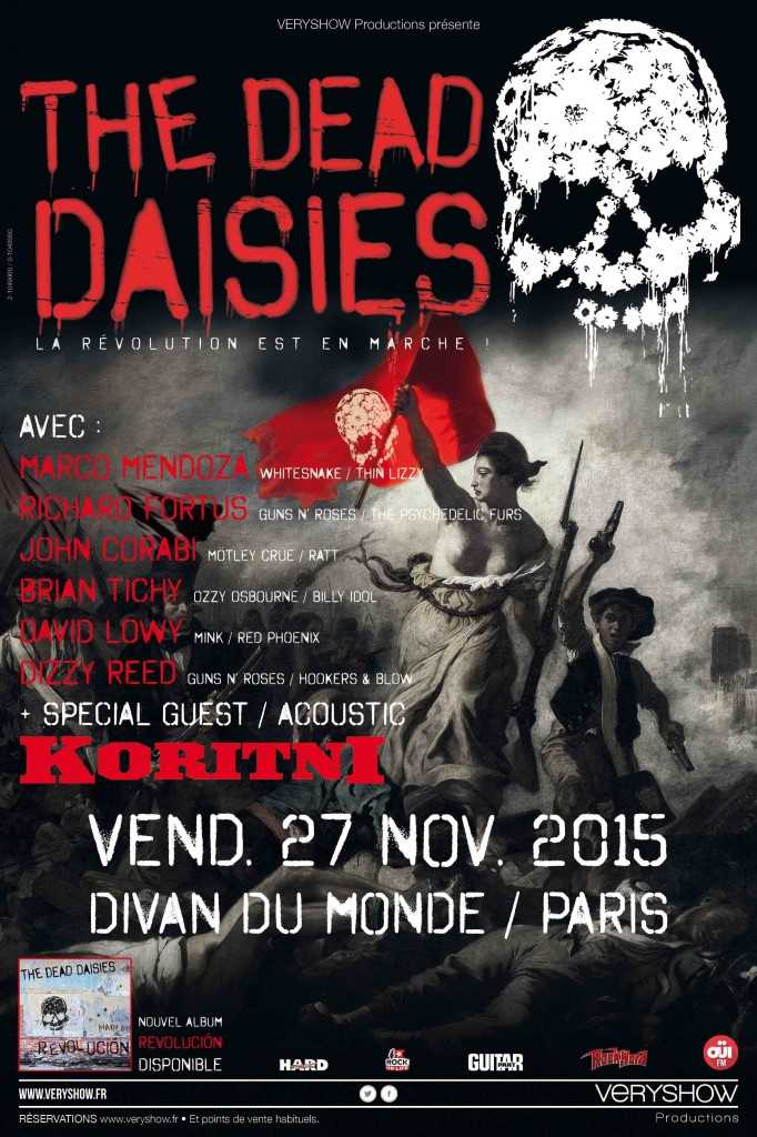 Affiche_TheDeadDaisies+K
