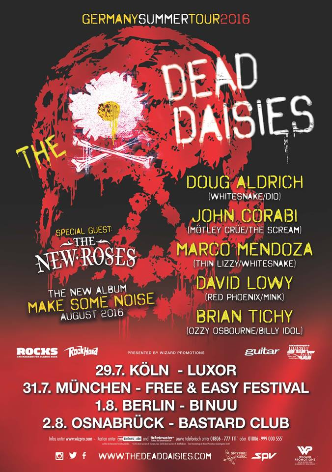 Daisies Tour Germany 2016 Final