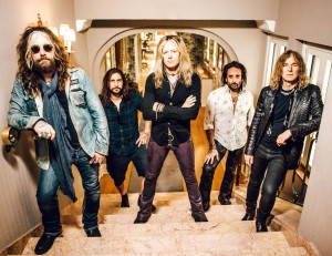 The Dead Daisies 2016 - Groupshot LoRes