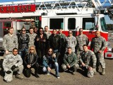 07 Hanging out with the Fire Fighting Team at Osan Air Base Seoul