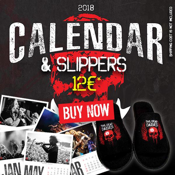 Calendar+slippers